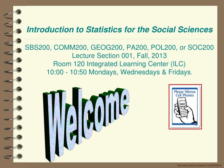 Introduction to Statistics for the Social Sciences