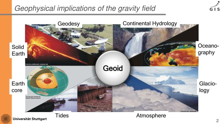 Geophysical implications of the gravity field