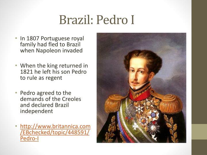 Brazil: Pedro I