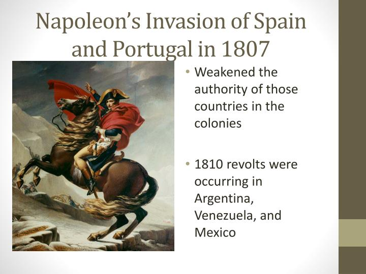 Napoleon's Invasion of Spain and Portugal in 1807