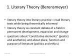 1 literary t heory b erensmeyer