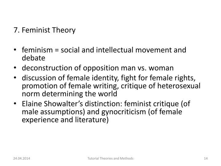 7. Feminist