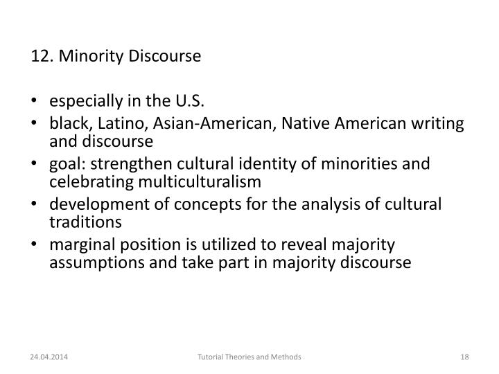 12. Minority
