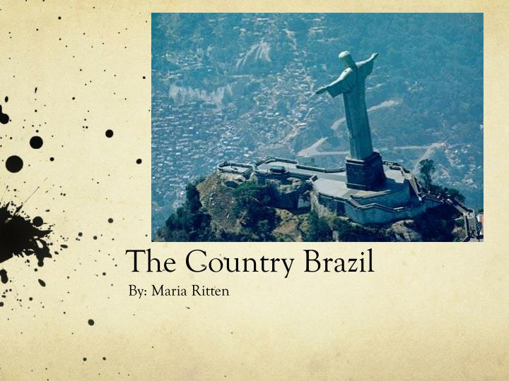 The country brazil