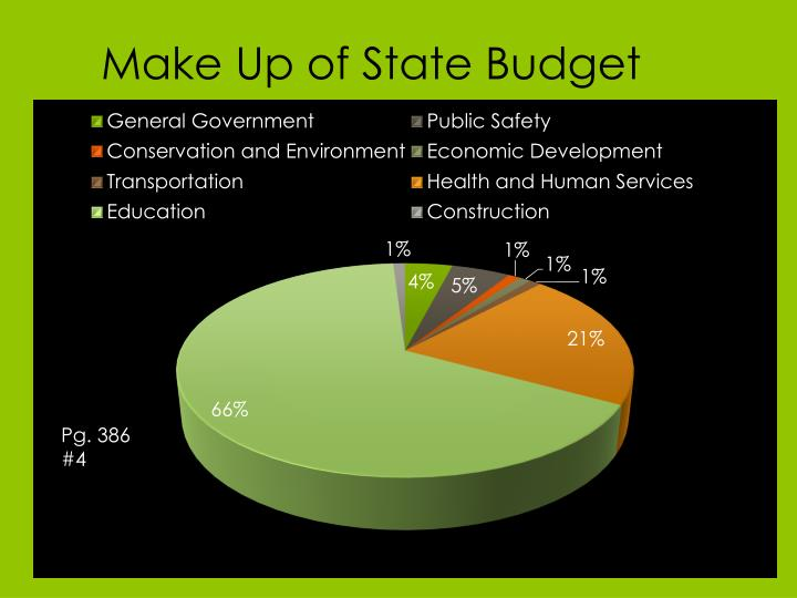 Make up of state budget
