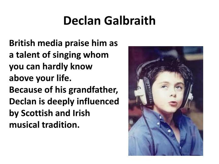 Declan Galbraith