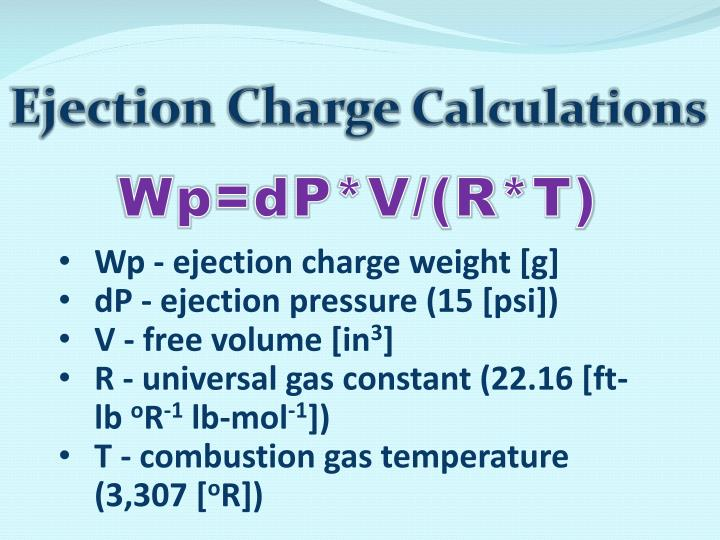 Ejection Charge