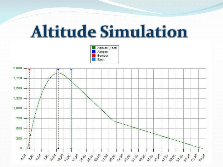 Altitude Simulation