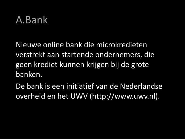 A.Bank