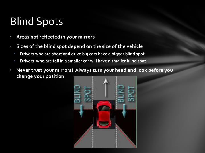 Blind Spots