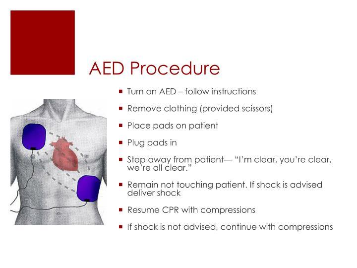 AED Procedure