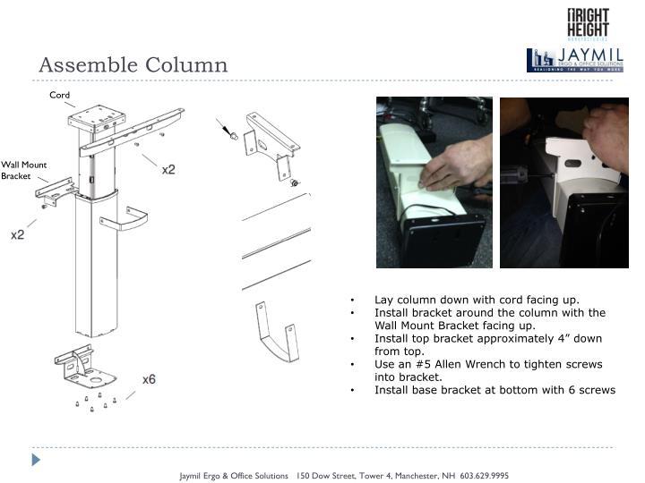 Assemble Column