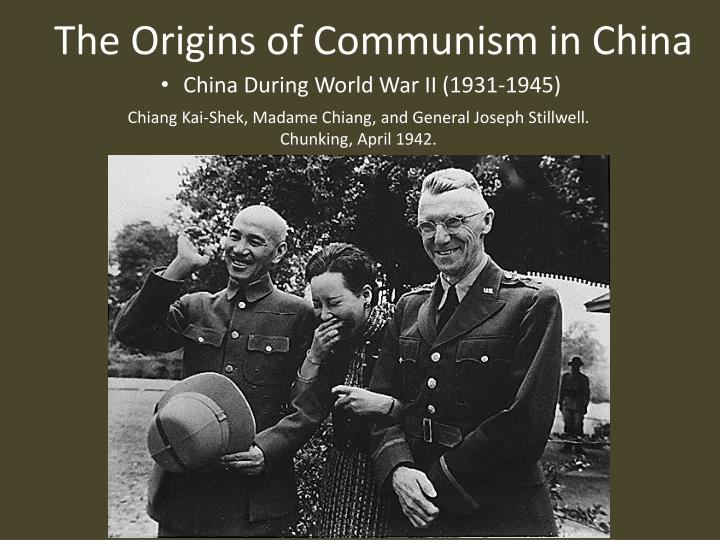 an analysis of the roots of communism in china An analysis of communism different forms of government have existed through the ages, including capitalism, monarchy, socialism, dictatorship, and theocracy communism is a government that developed in the early nineteen hundreds.