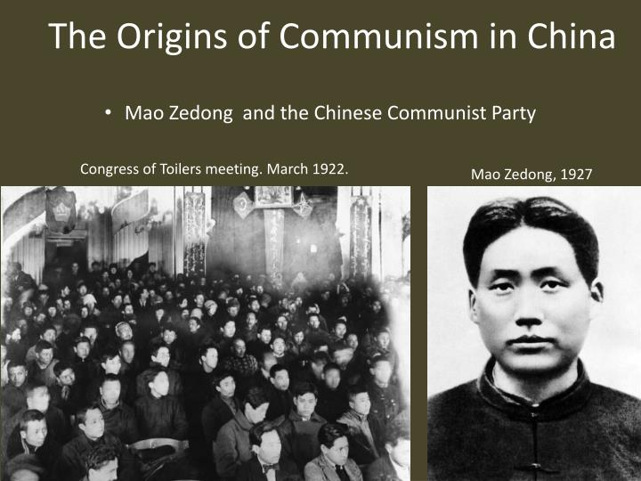 the roots of chinese communist revolution Read a harrowing memoir from china's cultural revolution  influence, but to  tear out china's own cultural and historical roots as well.