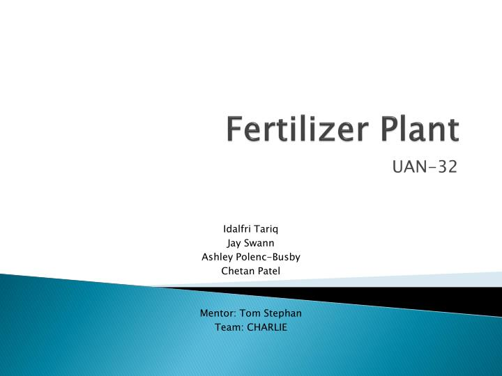 Fertilizer Plant