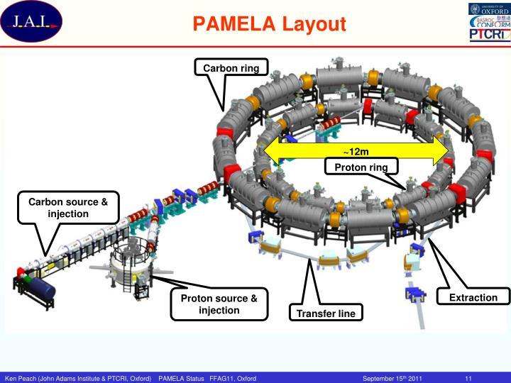 PAMELA Layout