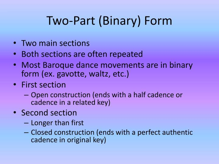 Two part binary form1
