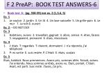 f 2 preap book test answers 6