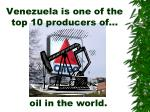 venezuela is one of the top 10 producers of