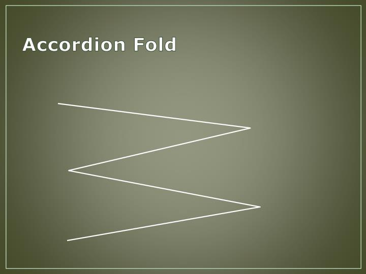 Accordion Fold