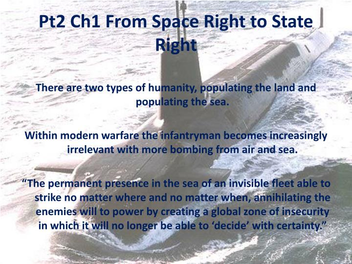 Pt2 Ch1 From Space Right to State Right