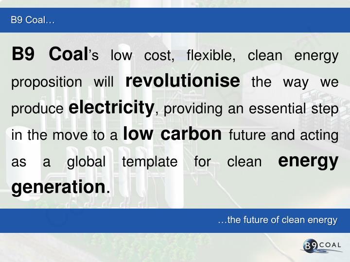 B9 Coal…