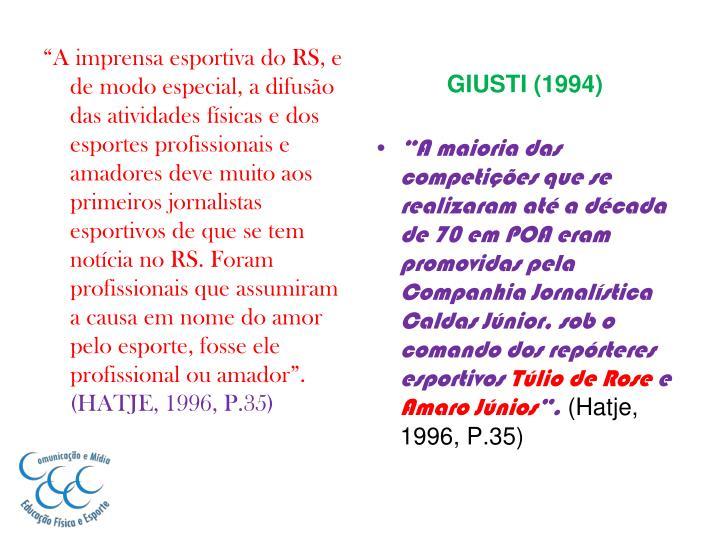 GIUSTI (1994)