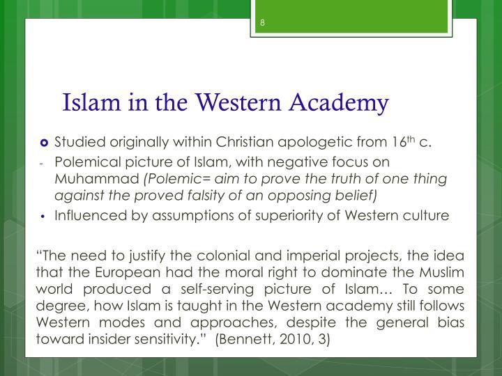 Islam in the Western Academy