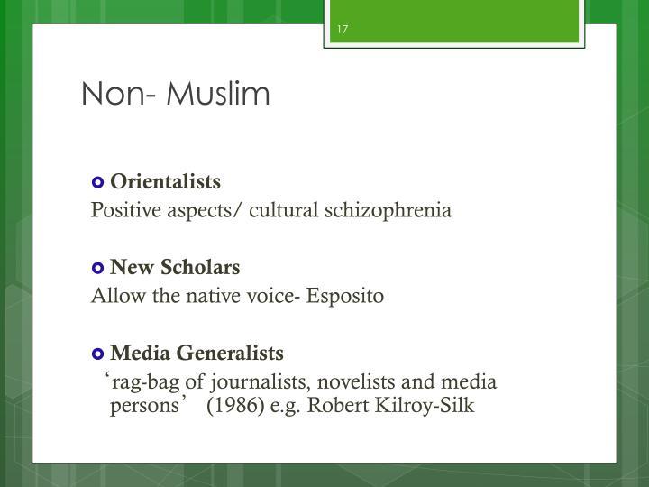 Non- Muslim