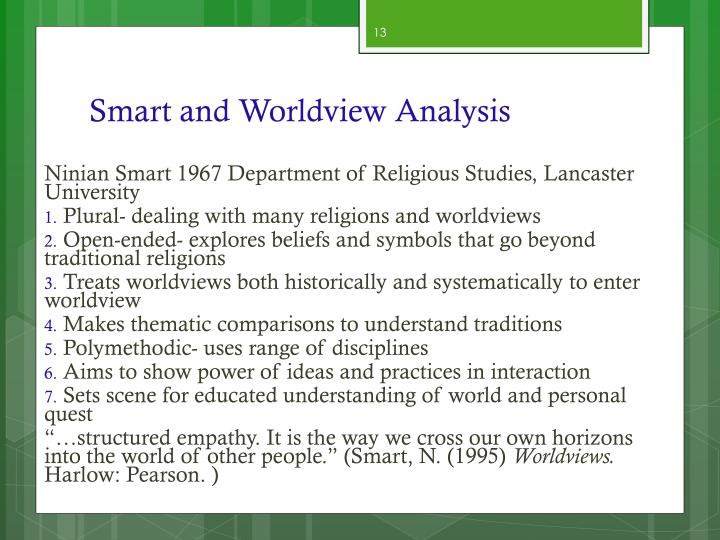 Smart and Worldview