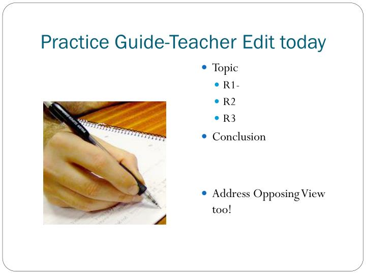 Practice Guide-Teacher Edit today