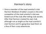 harmon s story