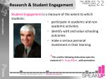 research student engagement