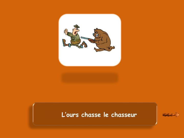 Le chasseur est chassé par l'ours
