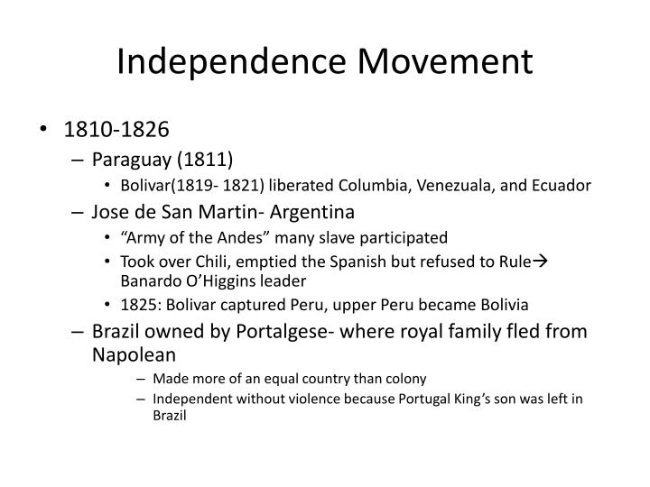Independence Movement