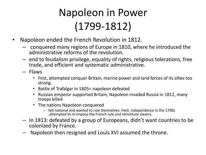Napoleon in Power