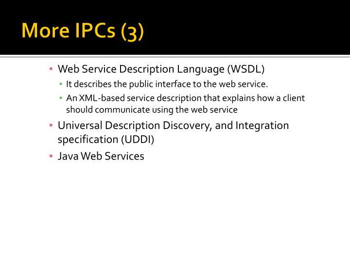 More IPCs (3)