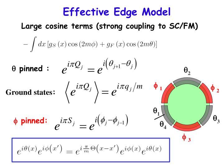 Effective Edge Model