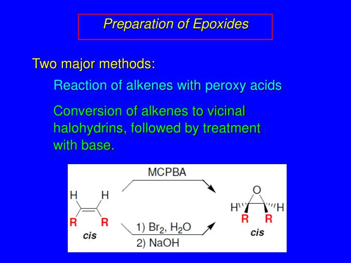 Preparation of Epoxides