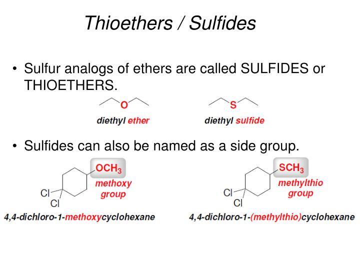 Thioethers