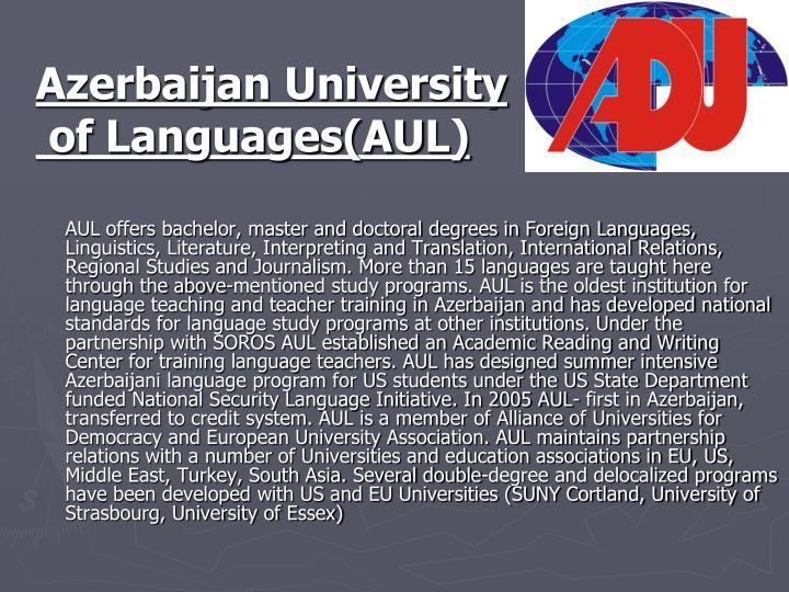 Azerbaijan University