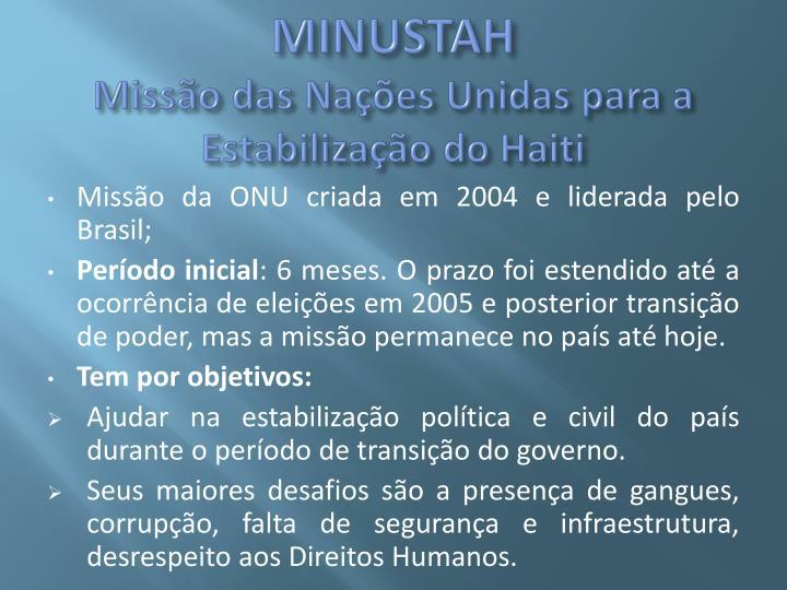 MINUSTAH