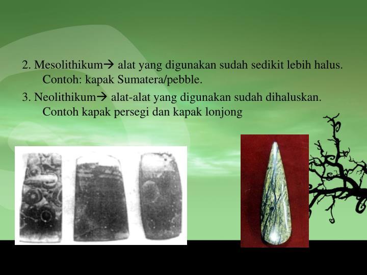 2. Mesolithikum