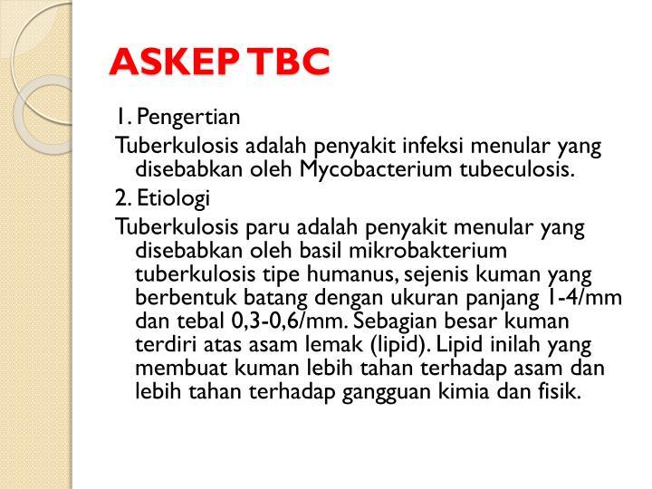 ASKEP TBC