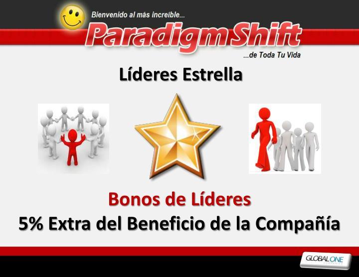 Líderes Estrella