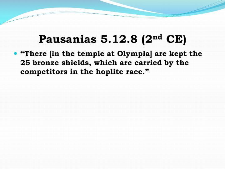 Pausanias 5.12.8 (2