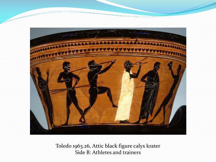 Toledo 1963.26, Attic black figure calyx