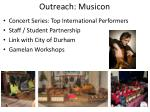 outreach musicon