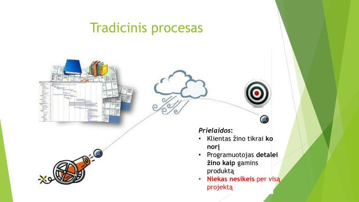 Tradicinis procesas