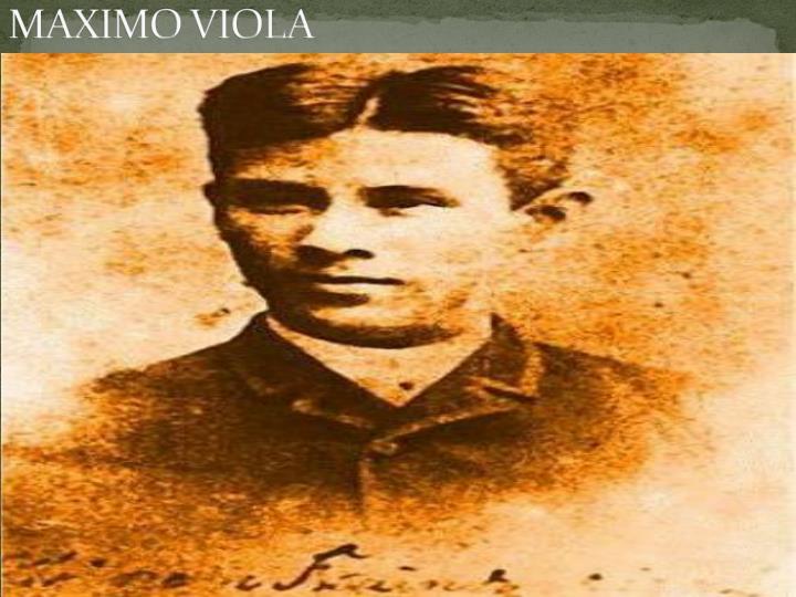 MAXIMO VIOLA